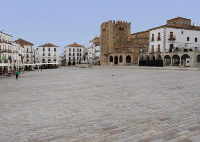 Plaza Mayor van Cáceres